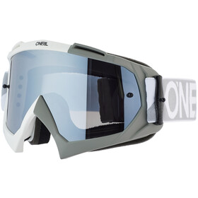 O'Neal B-10 Goggles, twoface-white/gray-silver mirror